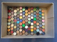 110 tins of Humbrol Enamel paints, for airfix models etc.