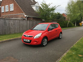 2009 HYUNDAI i20 CLASSIC, ONLY 45K MILES, 1 OWNER FROM NEW, FULL SERVICE HISTORY