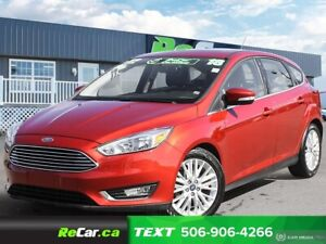 2018 Ford Focus Titanium HEATED LEATHER | BACK UP CAM | SUNROOF