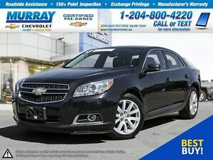 2013 Chevrolet Malibu 2LT *Remote Start, Satellite Radio, OnStar