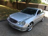 Silver Mercedes clk diesel for sale
