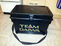 Team Daiwa fishing tackle box & equiptment