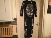Halloween skeleton outfit 11-12 years146-152 cm