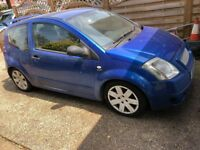 Citroen C2 GT RUNS, HAS MOT SPARES