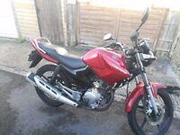 Yamaha YBR125 2012, Red