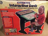 Learn and draw interactive desk