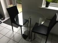John Lewis table & chairs for sale