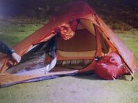 2 berth mountain series MX4000 tent