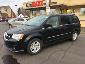 2016 DODGE GRAND CARAVAN CREW- REAR AIR & HEAT, REAR POWER WINDO