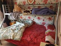 Bunk Bed framework, including two foam mattresses