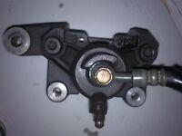 gsxr srad 600 750 rear brake caliper