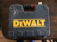 Dewalt storage case.