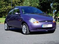 2007 Ford KA 1.3 Style. 57000 Miles Only. Service History. Mot March 2017. 1 Previous Owner.