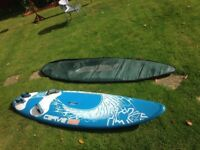 Starboard Carve 123lt windsurfing board
