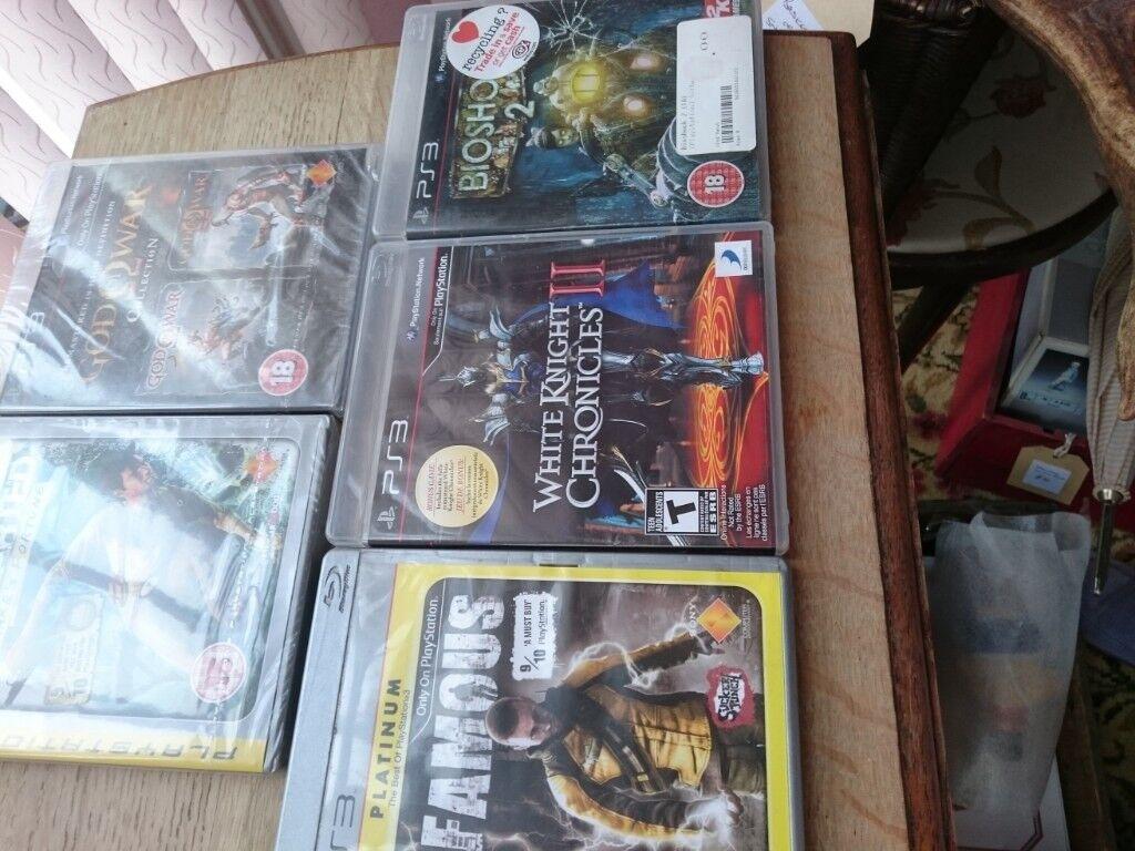 PS3 GAMES X 5