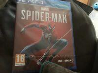 New sealed PS4 game marvel Spider-Man bargain £45