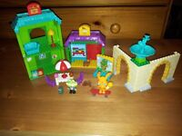 JOB LOT Huge collection of Moshi Monsters Mega Blocks Mega Bloks playsets like lego - complete