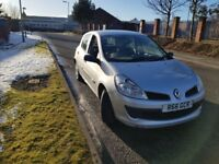 Renault Clio 1.5 dCi Diesel NEW MOT AND SERVICE £30 ROAD TAX