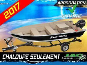 2017 Legend Boats Chaloupe 14 WideBody bateau pêche **21.59$*/se