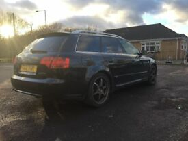 AUDI A4 S-LINE 2.0 TDI 2005 WITH PRIVATE REG PLATE