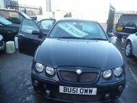 MG ZT,4 door saloon,half leather interior,nice clean tidy car,runs and drives well, only 62k,BU51OWW