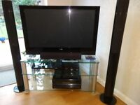 Pioneer PDP-428XD 42 inch Plasma TV and stand