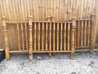3x Balustrades External Decking
