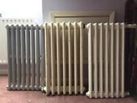Vintage Cast Iron radiators