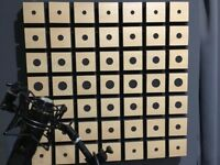 Sound PROOF Foam Pack 6 PROFESSIONAL, Wood Treated, from Germany (Rare)