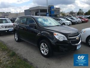 2015 Chevrolet Equinox LS ~ BLACK ON BLACK ~ BLUETOOTH!!