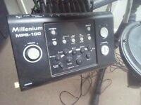 Electronic drum kit Millennium MPS 100