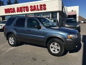 2006 Ford Escape AUTO XLT  SUV FWD VERY LOW KM SAFETYETEST