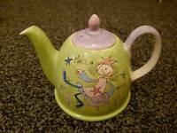 Princess and the toad make a wish teapot