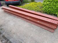 steel beam - I beam - extra long 7.72m (203x203x 60kg UC) - Spliced - Brand New