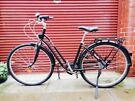 BTWIN ELOPS 500 Step Over Classic Dutch City Steel Black Bicycle w Dynamo