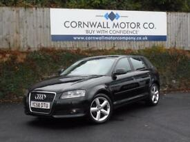 AUDI A3 2.0 TDI SE 5d 138 BHP RECENT SERVICE+MOT AND CAMBE (black) 2008