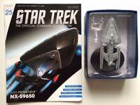 STAR TREK EAGLEMOSS NX-59650 STARSHIP COLLECTION DIE CAST MODEL