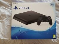 PlayStation 4 Slim 500GB *Boxed As New* Hardly used