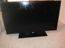 "42"" Samsung TV With Broken Screen For Sale"