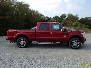 2015 ruby red platinum f350 or f250