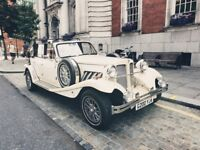 CORONA VIRUS DEPOSIT - Classic Wedding Car + Wedding Car Hire + Vintage car hire + Groomsmen limo