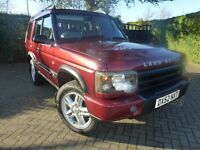 2002 LAND ROVER DISCOVERY TD5 XS 7 SEATER DISCO 2 DIESEL 52 PLATE FACELIFT