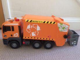 Large bin truck