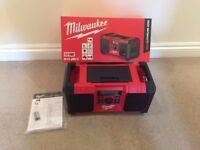 Milwaukee M18 JSR-0 Jobsite Radio (Body Only)