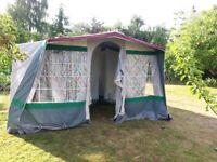 Relum Canaria Frame tent 5/6 with Kitchen Extension in excellent condition