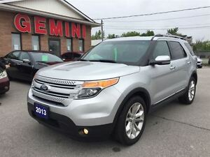 2013 Ford Explorer Limited 4wd Leather Navi Pano-Roof