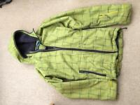 Fleece Lined Ski Snow Jacket