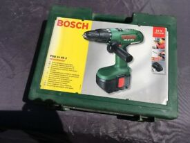BOSCH 24v Cordless Hammer Drill PSB 24 VE-2 - Battery & Charger working, drill not.