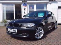2009 59 BMW 118 2.0TD d Sport~LOW MILES~FEB 18 MOT~
