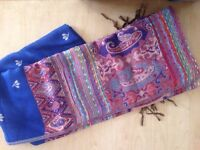 Large various color scarves, brand new